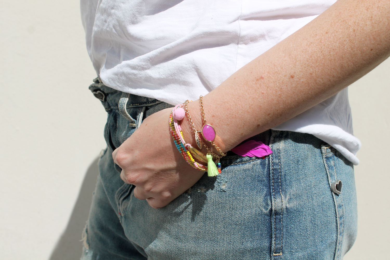 bracciali hippie chic ibiza style