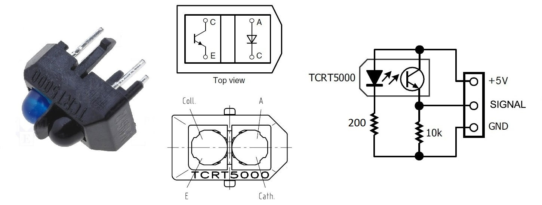 IT Robotics Lab 艾鍗技術Blog: CNY70 光感測器:IR Infrared Reflective Sensor