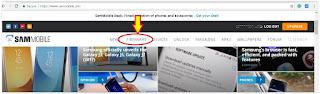 download Samsung firmware SamMobile