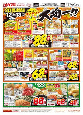 【PR】フードスクエア/越谷ツインシティ店のチラシ9月12日号