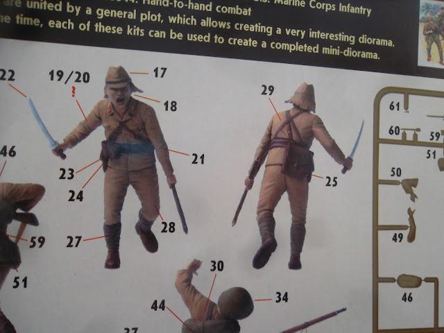 "Master Box Japanese Marines ""Bloody Atoll series"""