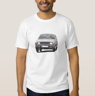 Austin Allegro t-paita ilman logoa