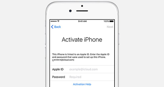 Apple Clear Activation Lock On iOS Devices