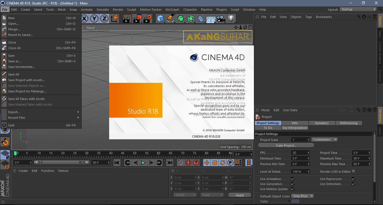Download Maxon CINEMA 4D Studio R18 Full Version