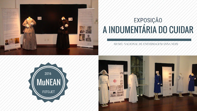 Exposição mostra a evolução das roupas das enfermeiras do Brasil