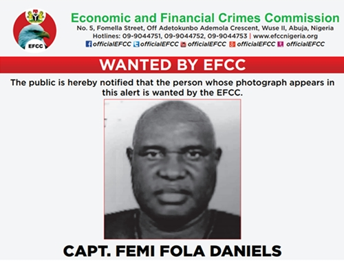 Face Of Man Declared Wanted By EFCC Over $400,000 Fraud