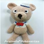 http://aramelaartesanias.blogspot.com.es/2017/07/patron-amigurumi-osito-marinero.html