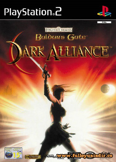 Baldur's Gate Dark Alliance (PAL) Playstation 2 Tek Link