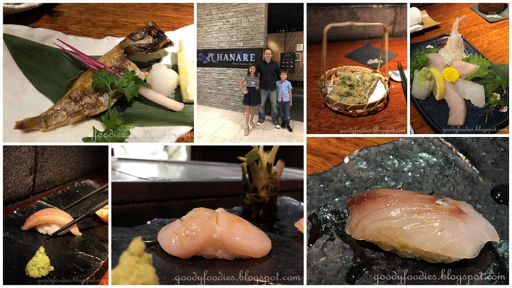 goodyfoodies sushi kaiseki hanare japanese restaurant kl. Black Bedroom Furniture Sets. Home Design Ideas