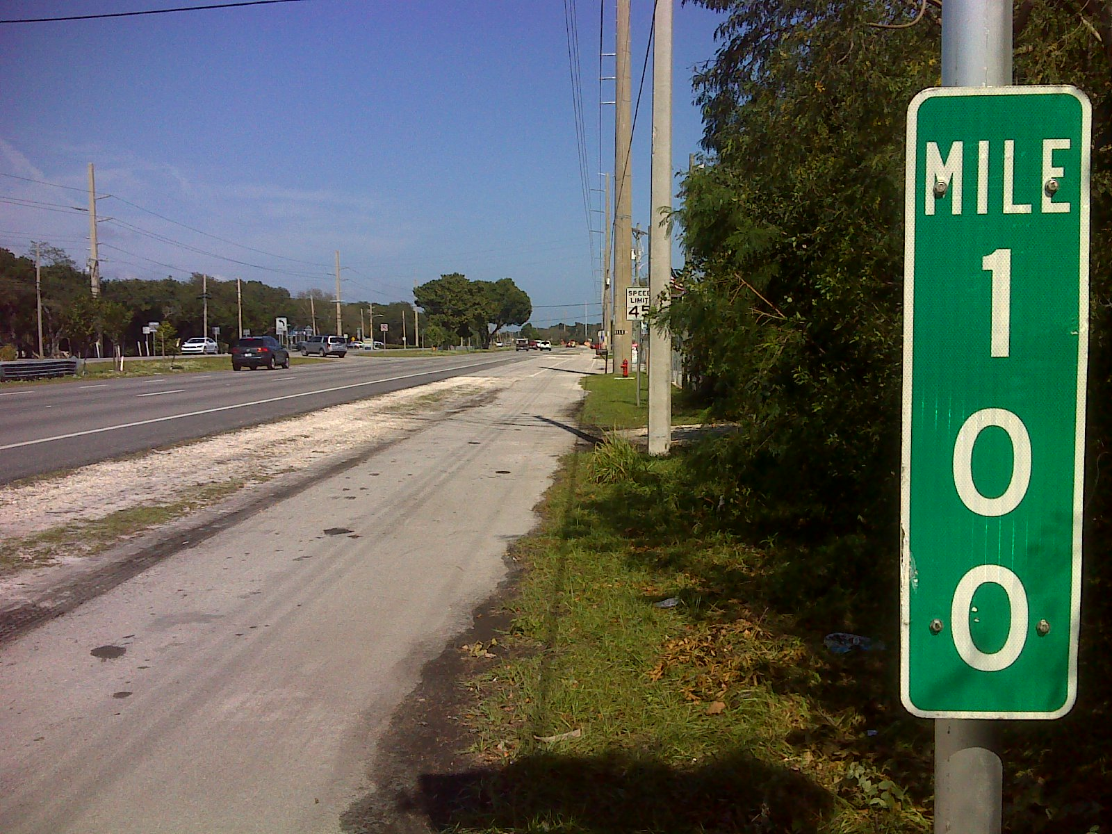 Green mile 0 sticker indicating their love of key west im familiar with the importance given to mile markers on many east coast beaches