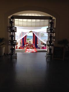 anand kaarj Barceló Riviera Maya Palace Sikh Wedding