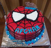 Kue Tart Ulang Tahun Spiderman Buttercream