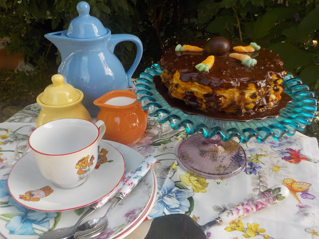 chocolate-carrot-waffles-cake, gofres-de-zanahoria-y-chocolate