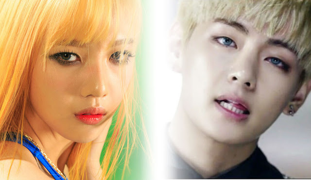 Internautas discutem possível namoro entre V do BTS e Joy do Red Velvet