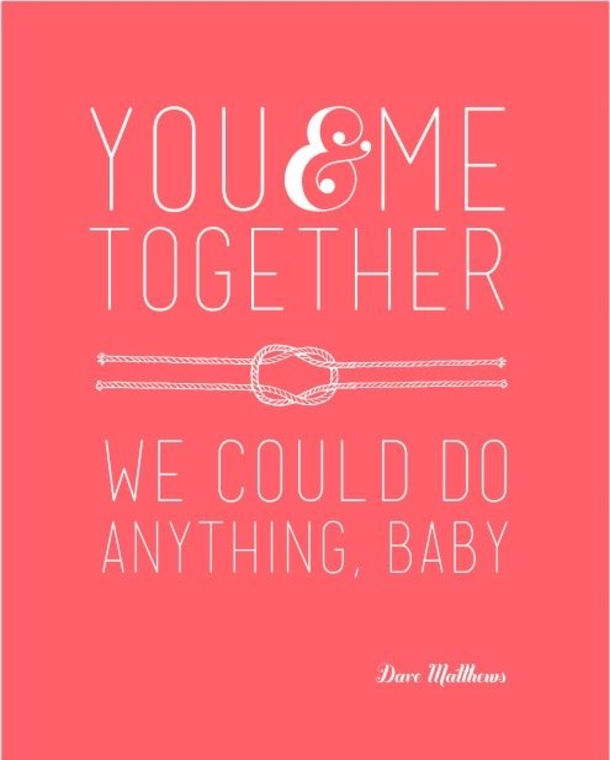 You And Me Together sweet valentines day quotes and sayings images