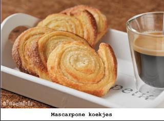 Krokante mascarpone koekjes