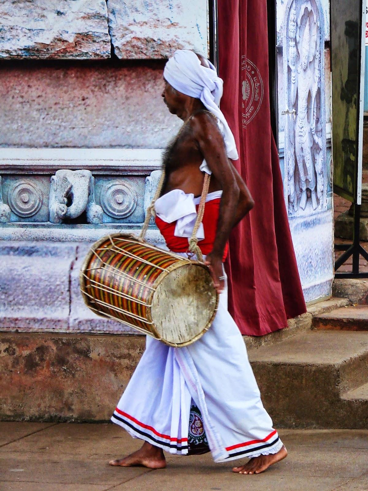 Ofrendas en Sri Lanka