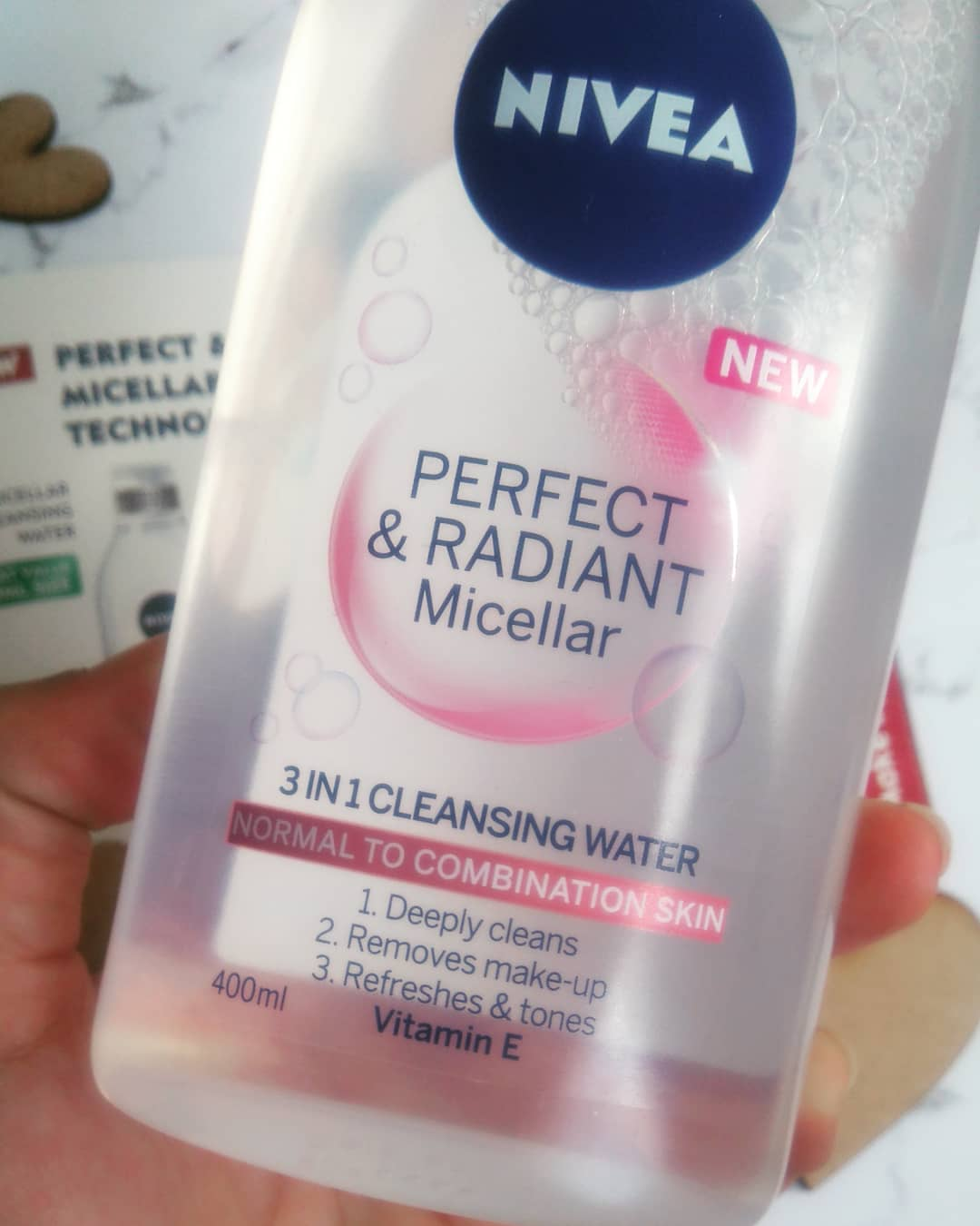 Review Nivea Perfect And Radiant Micellar Water