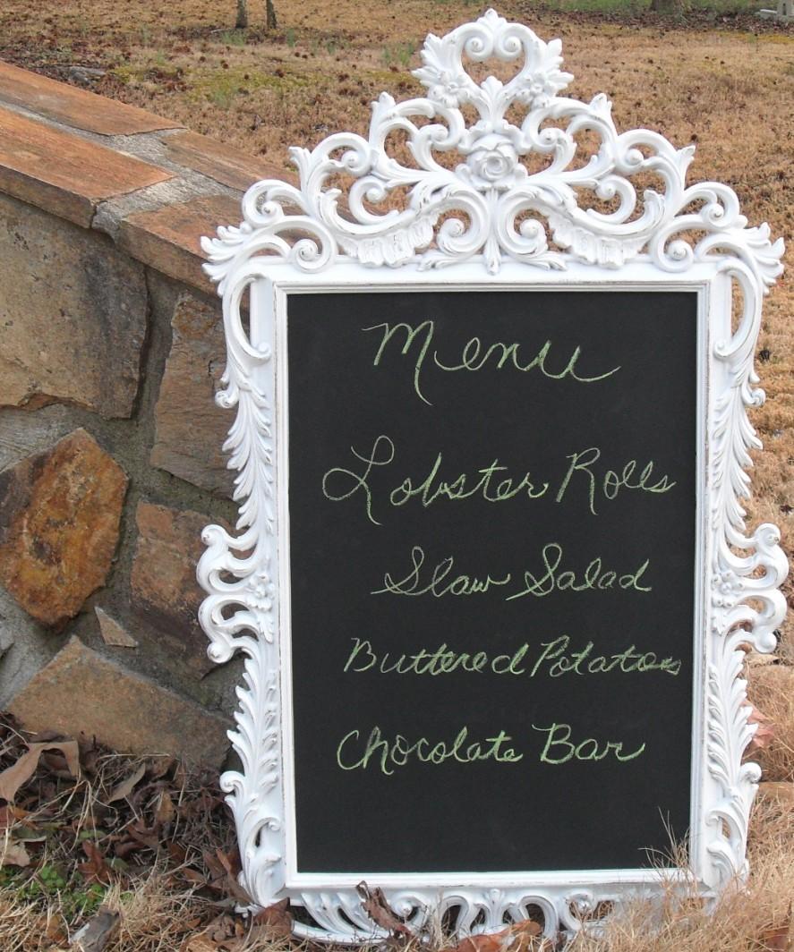 Wedding Chalkboard Ideas: The Funky Shack Flower Market: Now Renting Wedding