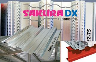 Floor deck / Bondek / Trimdek