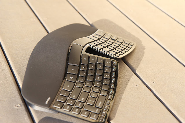 Sculpt Keyboard side view