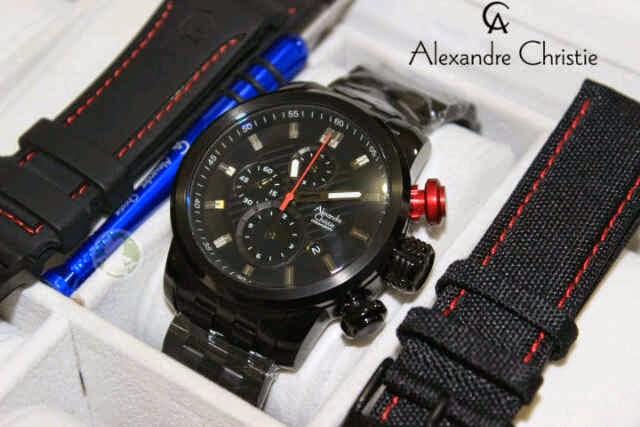 Jam Alexander Christie 6163 Original Black