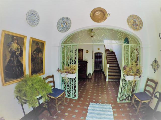 Interno de la casa andaluza