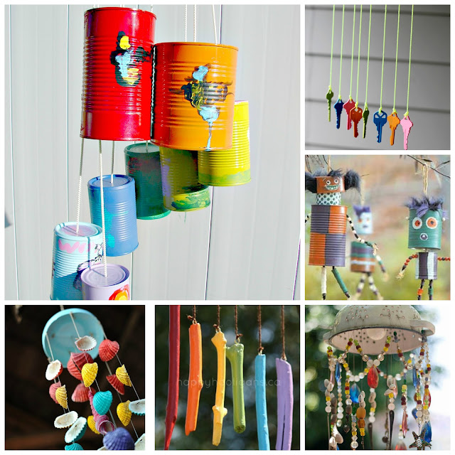 WIND CHIME CRAFTS FOR KIDS #artsandcraftsforkids
