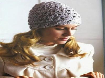 Gorro Punto Escoba Crochet Patrones