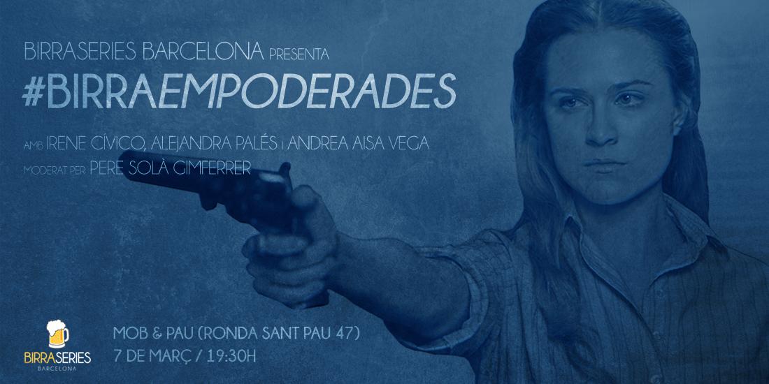 BirraSeries renace en Barcelona para celebrar el Día de la Mujer