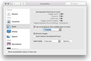 MacOS Zoom Settings