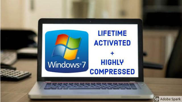 Windows 7 Highly Compressed ultimate ISO 100% Working 2019