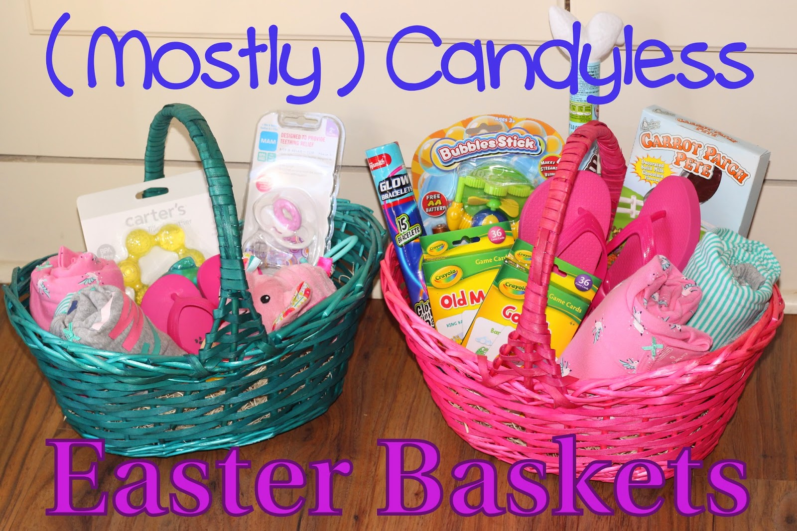 Ha Pretty Easy Plus Kate S Had To Be Pink If She Got A Non Basket I Think The Easter Bunny Would Have Been In Trouble