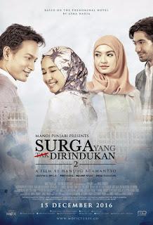 bercerita wacana empat tahun sesudah perpisahan Prasetya  Sinopsis Film Surga Yang Tak Dirindukan 2 (2017)