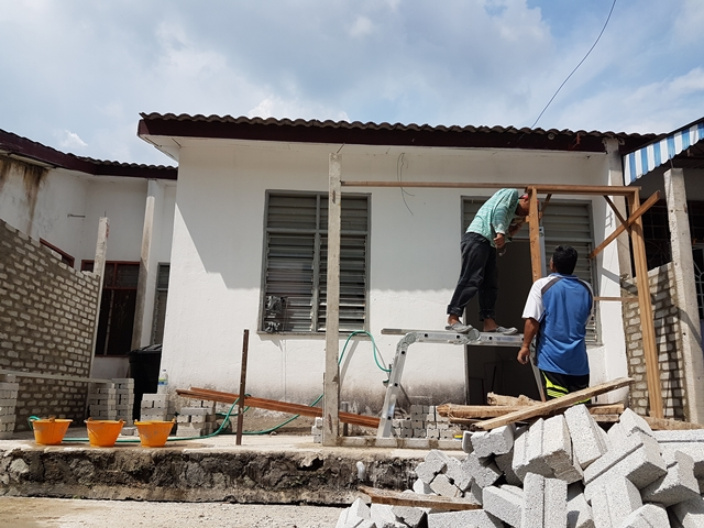 renovate rumah sendiri