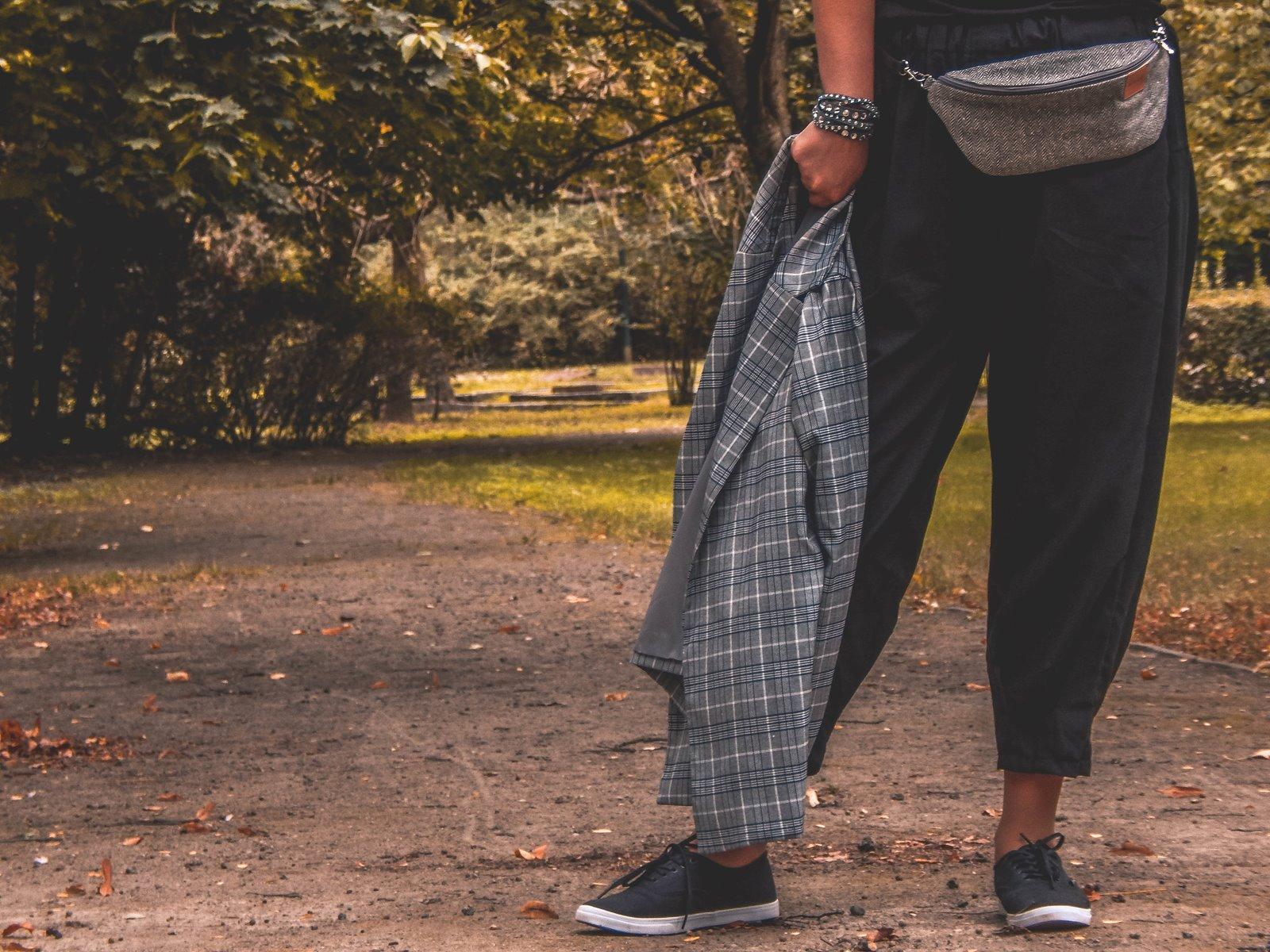 1 współpraca marka bloger stylizacja cado nerka komin na jesień szara marynarka nakd zniżka cena promocja blondynka selfieroom moda damska blog vansy kuloty jak nosić modna polka łódź lifestyle