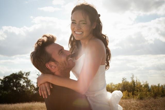 O casamento é  construído com bondade