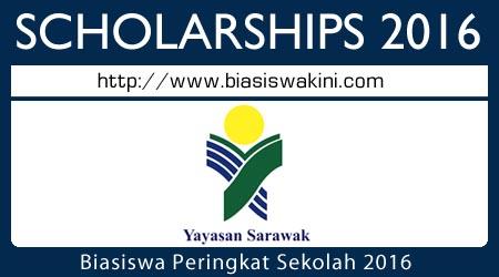 Biasiswa Peringkat Sekolah Tabung Amanah Bakun 2016