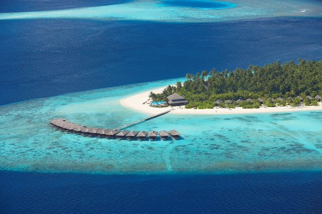 Filitheyo Island Resort, Birds View