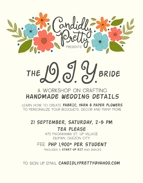 {Craft Workshop} The DIY Bride