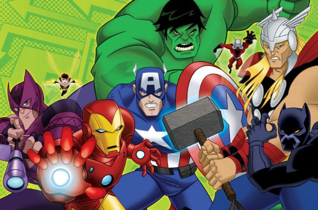 DC and Marvel Superhero Cartoon Report Card, Fall 2012 Edition