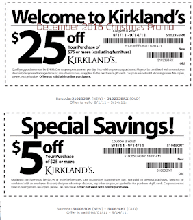 Kirklands coupons december