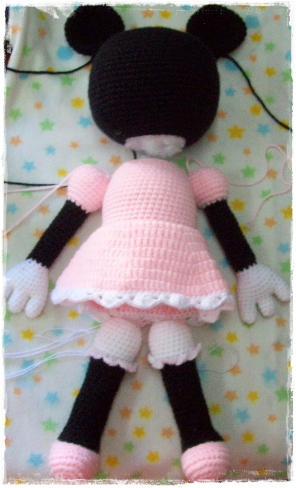 Ravelry: Minnie Mouse Amigurumi pattern by i crochet things | 1600x970