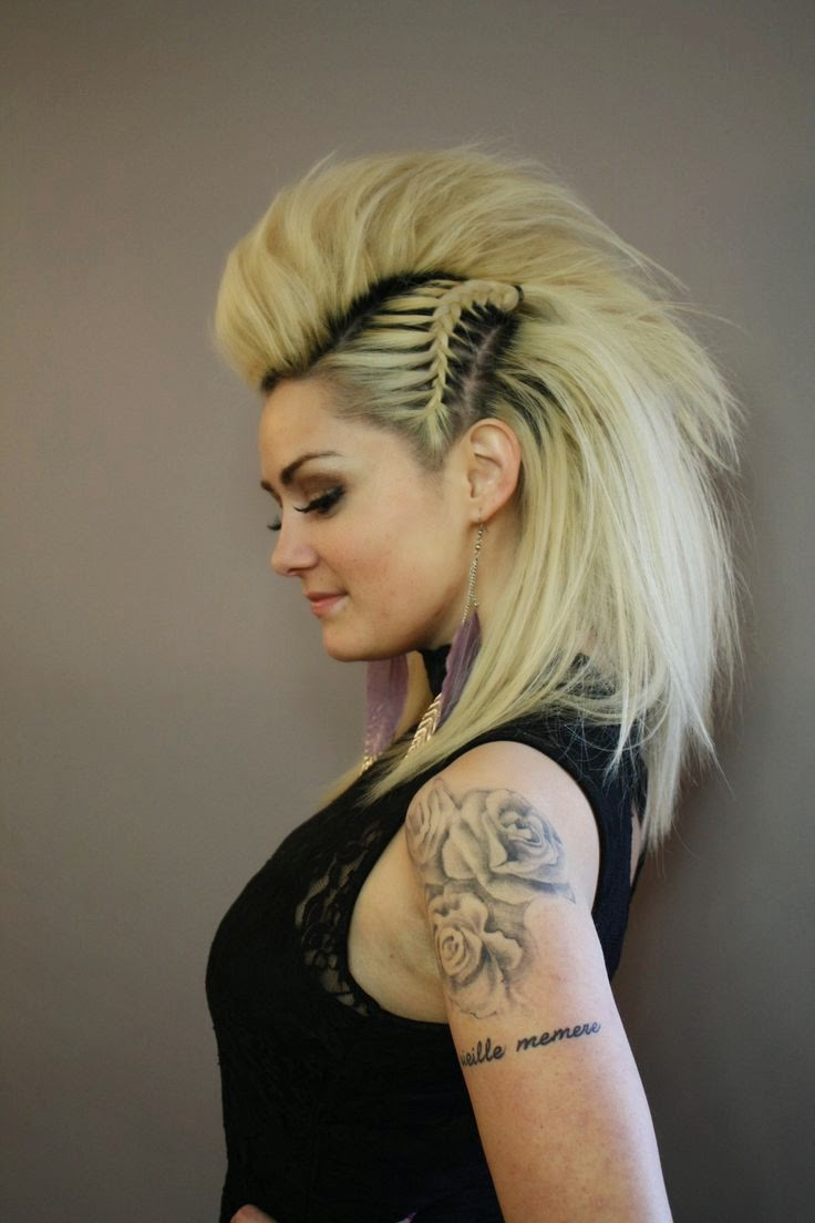 Faux Mohawks Special Gallery  Video Tutorials  The HairCut Web