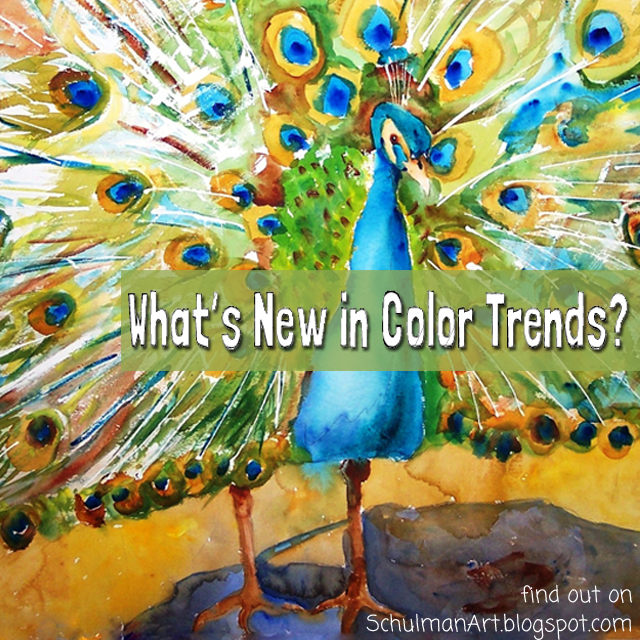 Color Trends What S New What S Next: Art Blog For The Inspiration Place: What's New In Color