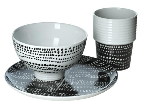 Zwart Wit Servies Ikea.His Door Haar Servies In Zwart En Wit