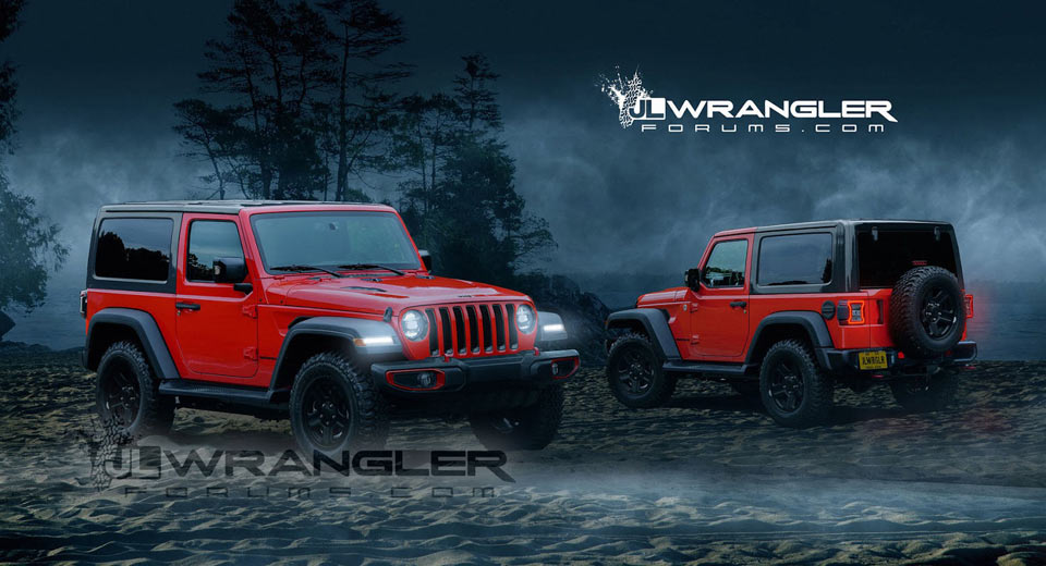 Jeep Wrangler JL Power Figures Leaked