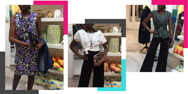 Roberta Style Lee Personal Styling Session With African Inspired Prints & Colours