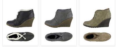 zapatos de cuña en oferta