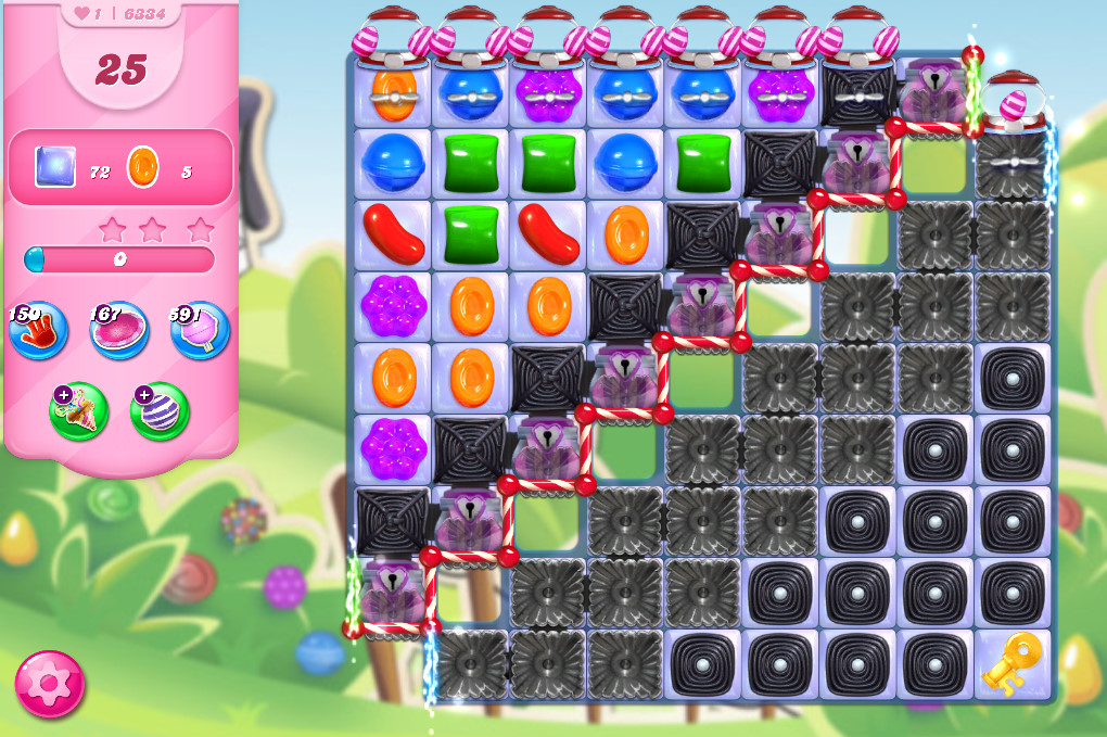Candy Crush Saga level 6334